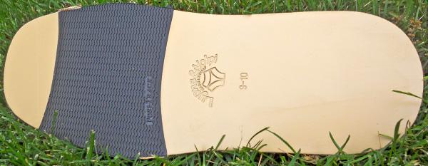 Posi-Track Sole Leather
